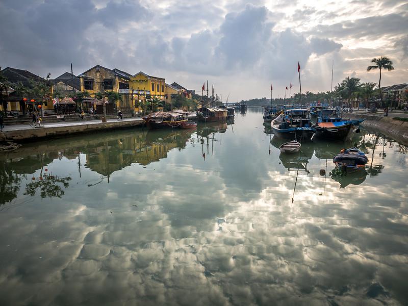 River Reflections, Hoi An, Vietnam
