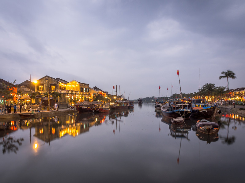 Tranquil Dusk in Hoi An