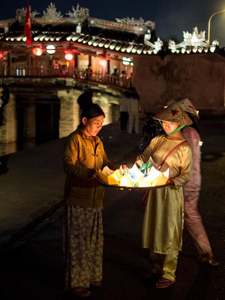 Lanterns by the Bridge, Hoi An