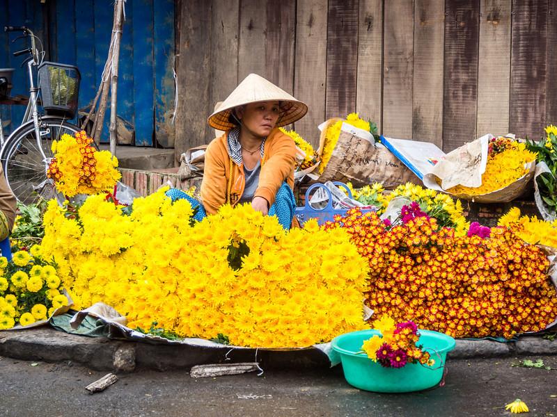Flower Girl, Hoi An, Vietnam