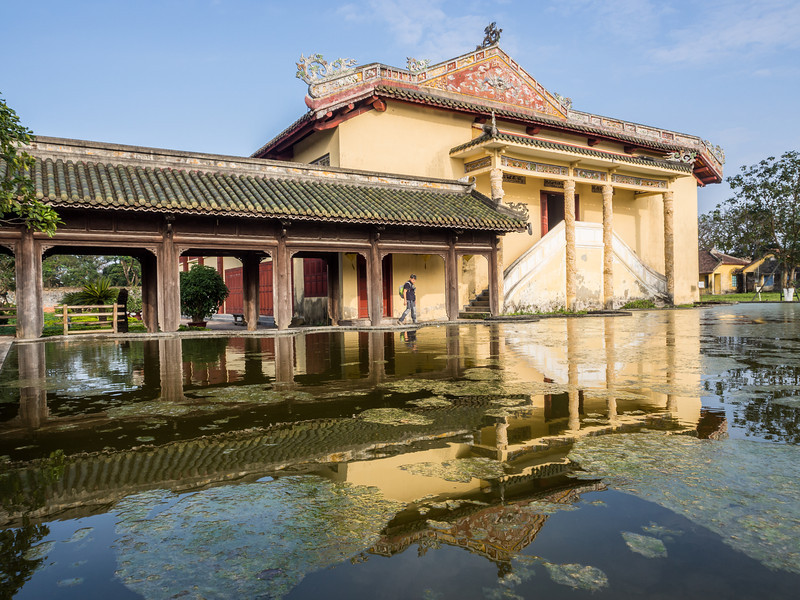 Pond Reflection, Hue
