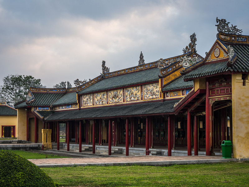 Tranquil Palace Grounds, Hue, Vietnam