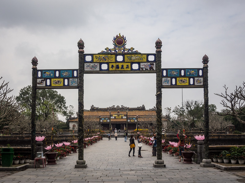 Ceremonial Gate, Hue