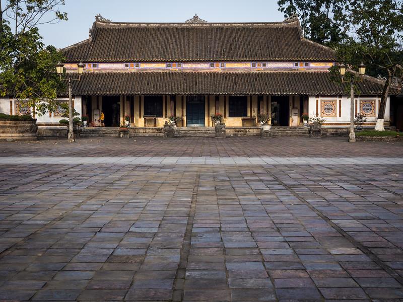 On Palace Grounds, Hue