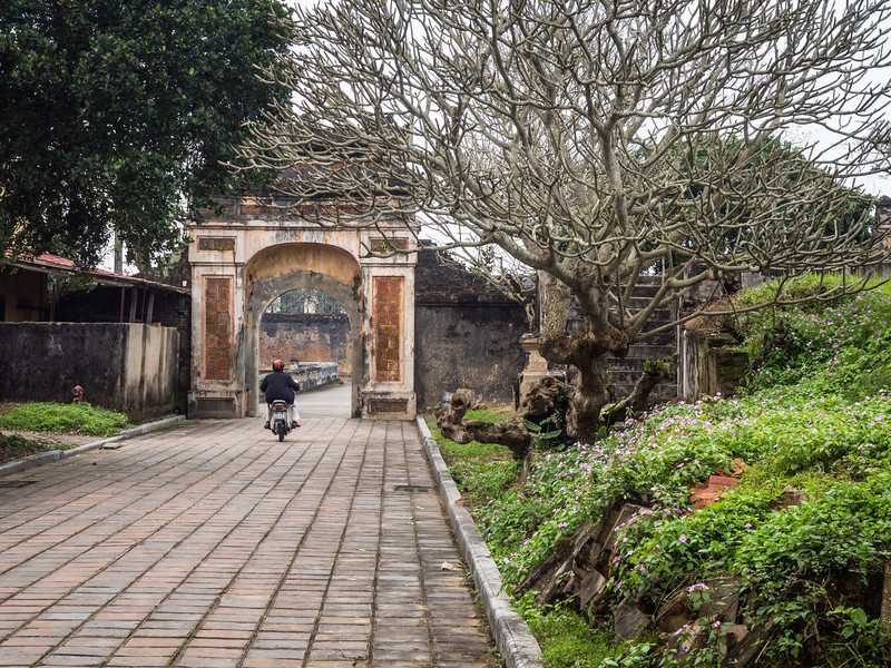 Leaving the Palace, Hue