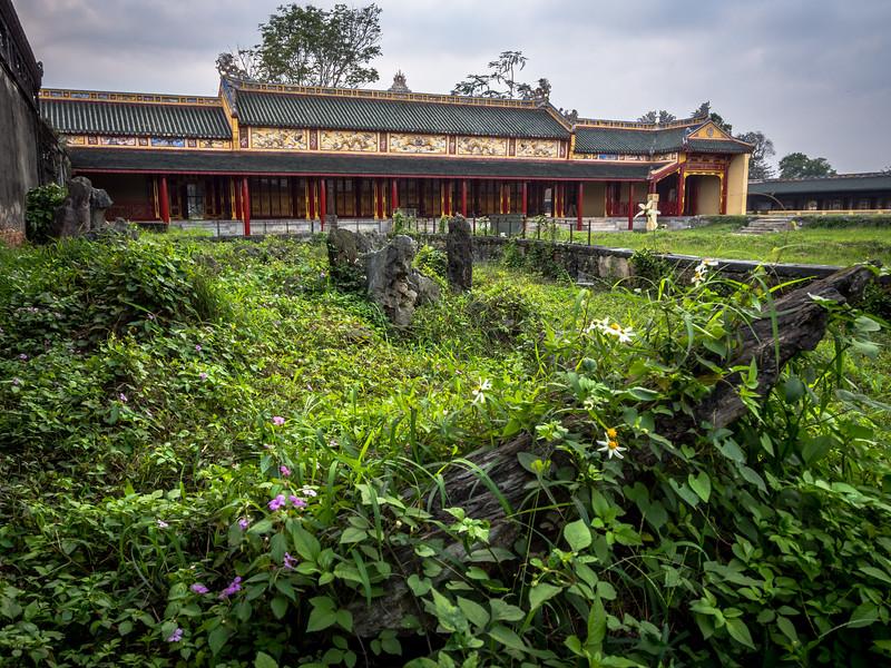 Palace Ruins, Hue, Vietnam