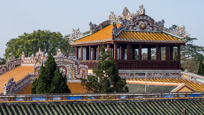 Ornate Rooftops, Hue