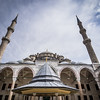 Looking Up, Fatih Mosque, Istanbul, Turkey
