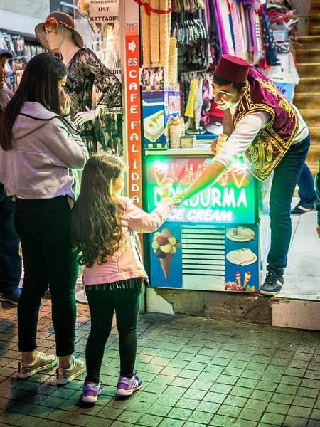 Evening Ice Cream, İstiklal Caddesi, Istanbul