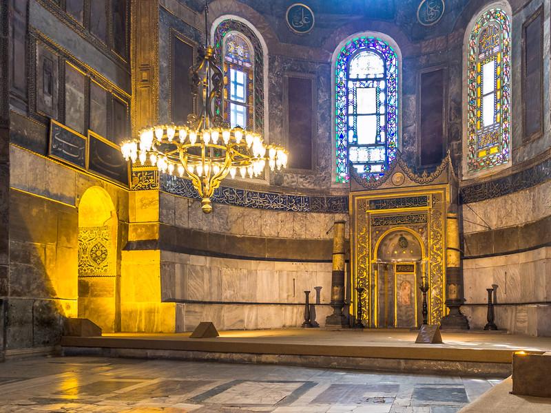 The Mihrab, Hagia Sophia, Istanbul
