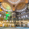 Inside the Yeni Mosque, Istanbul