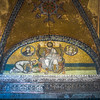 The Emporer before Christ, Hagia Sophia, Istanbul
