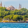 Spires above the Trees, Istanbul