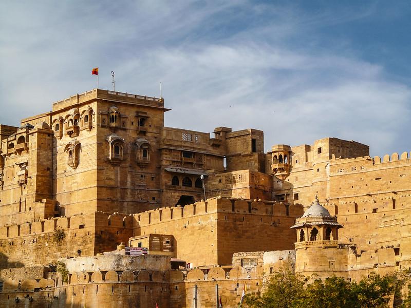 Palace Walls of Jaisalmer Fort, India