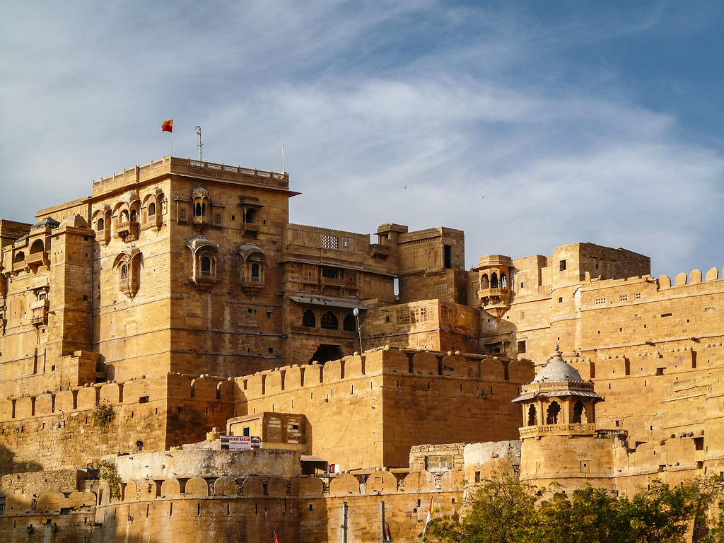 Palace Walls of Jaisalmer Fort, India
