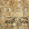 Lions at the Lion's Gate, Jerusalem