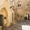 Courtyard near the Room of the Last Supper, Jerusalem