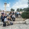Mormon Family Reading about Jesus, Jerusalem
