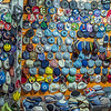 Kippas on Display, Jerusalem