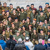 Young Soldiers' Group Shot at the Western Wall, Jerusalem