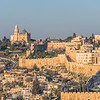 Old City Walls and Mount Zion, Jerusalem