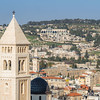 Mount Scopus and the BYU Jerusalem Center from David's Tower, Jerusalem