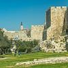 Park outside the Old City Walls, Jerusalem