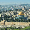 Dome of the Rock and Dormition Church, Jerusalem