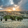 Sunset over Jerusalem