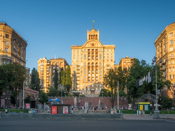 Classic Soviet Architecture, Kiev, Ukraine