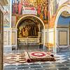Archways inside the Dormition Cathedral, Kiev, Ukraine