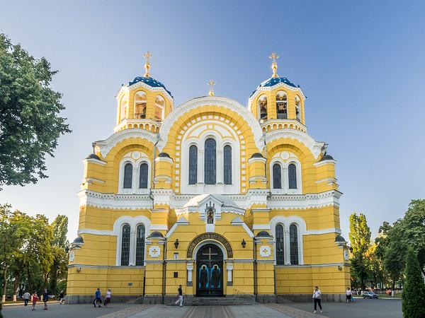 St Volodymyr's Cathedral, Kiev, Ukraine