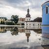 Puddles at St Michael's Monastery, Kiev, Ukraine