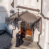 Priest Entering the Church, Kiev