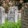 Worn Headstones of the Jewish Cemetery, Kraków, Poland