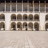 Inner Courtyard of Wawel Castle, Kraków, Poland