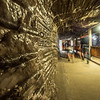 Inside the Wieliczka Salt Mine, Poland