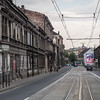 Street in the Kraków Ghetto, Poland