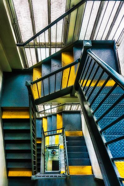 Stairwell Down