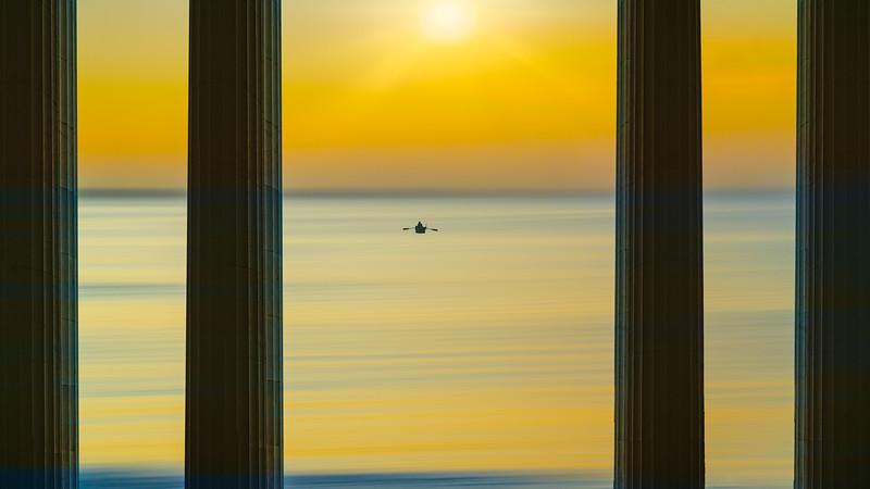 Ionic Sea Scape