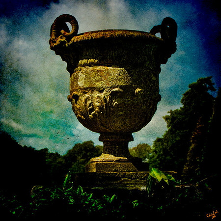 Classic Monumental Garden Urn