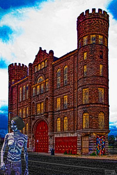 Derelict Castle In Detroit with Friend!