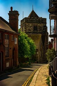 Church on the Street where DCS Foyle Lived