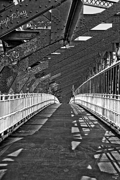 Crossing the Williamsburg Bridge