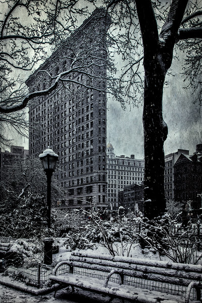 The Flatiron In Winter