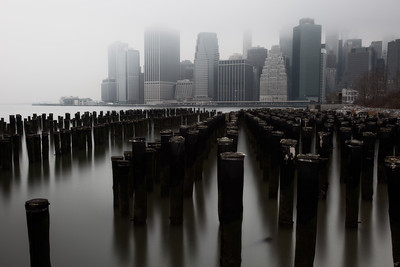 Downtown Manhattan From the Brooklyn Waterfront