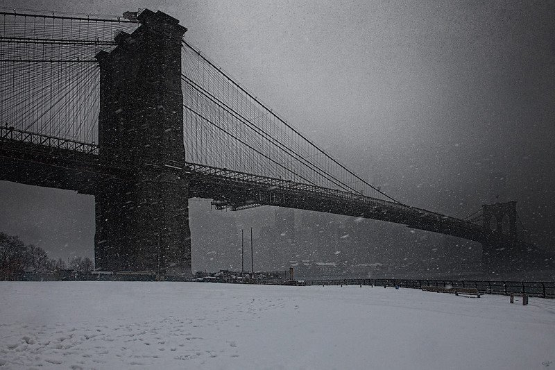 Broolyn Bridge Blizzard