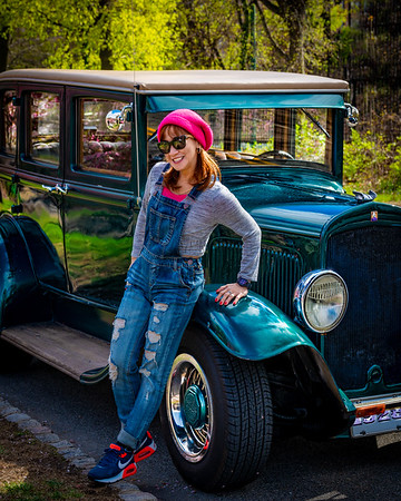 A Girl & Her Plymouth