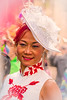 Asian Lady At Easter