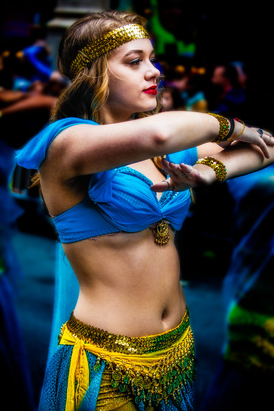 Parade Belly Dancer